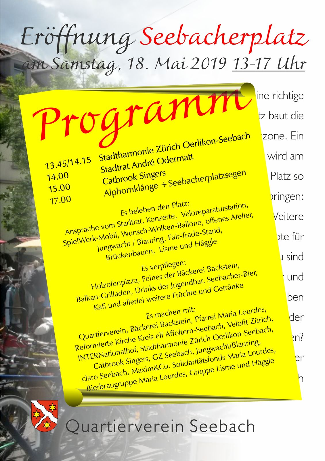 Flyer Seebacherplatz Programm